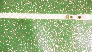 glitter vinyl lime