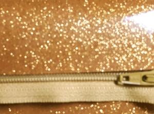 glitter vinyl lt gold