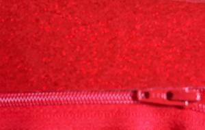 glitter vinyl red