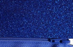 glitter vinyl royal blue
