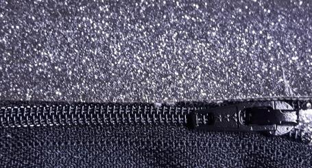 glitter vinyl silver focus